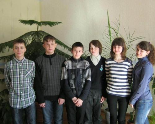Команда 7(2) класса - победитель викторины