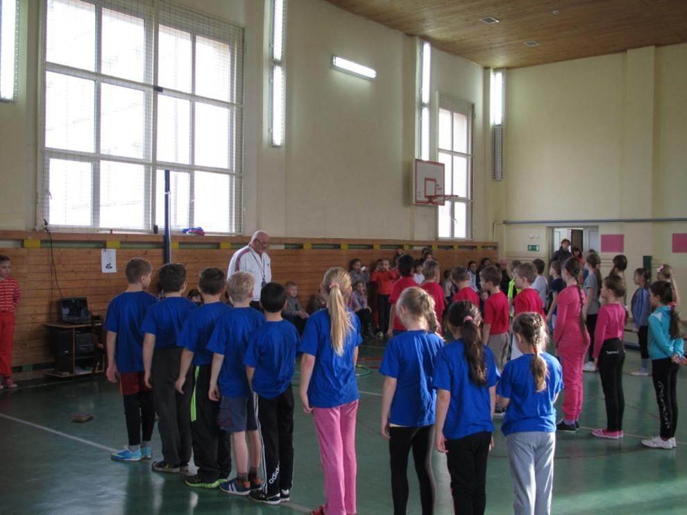 Неделя спорта в начальной школе