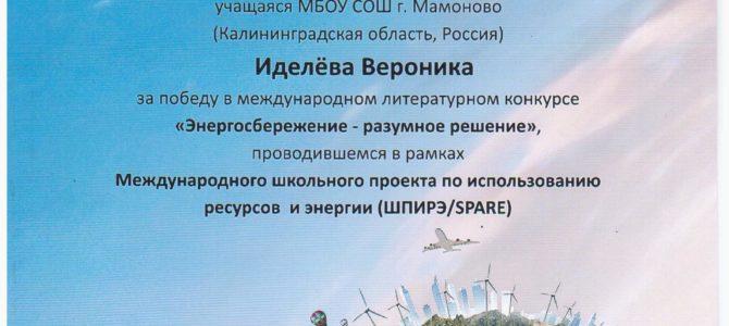 Конкурс «Энергосбережение – разумное решение»