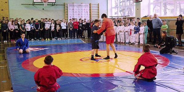 Всероссийский проект «Самбо в школу»