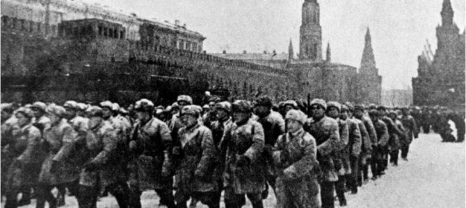 Парад, изменивший историю. 7 ноября 1941 года