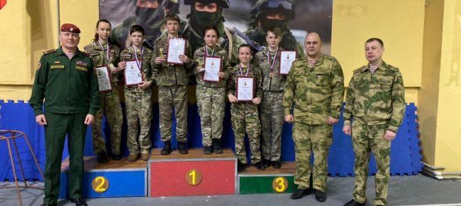 Соревнования по стрельбе для кадет