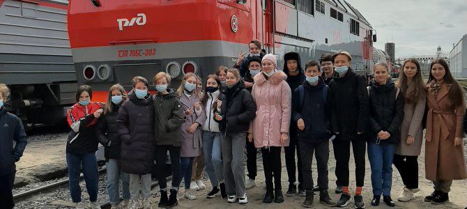 Экскурсия в локомотивное депо Калининграда