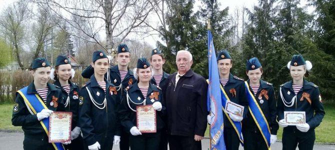 Смотр-конкурс почетных караулов «Пост №1» среди кадетских классов